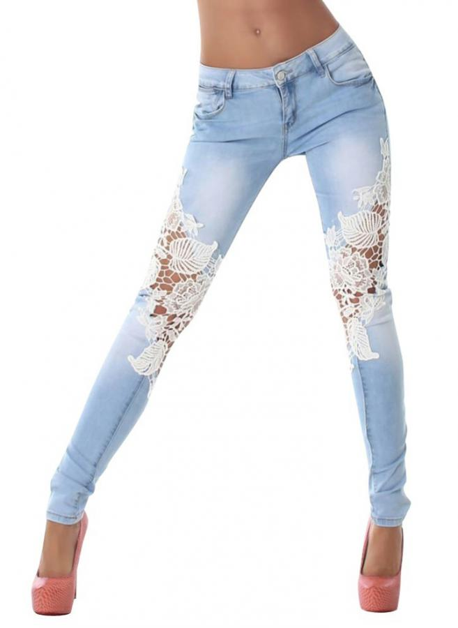 Jeans Flowers